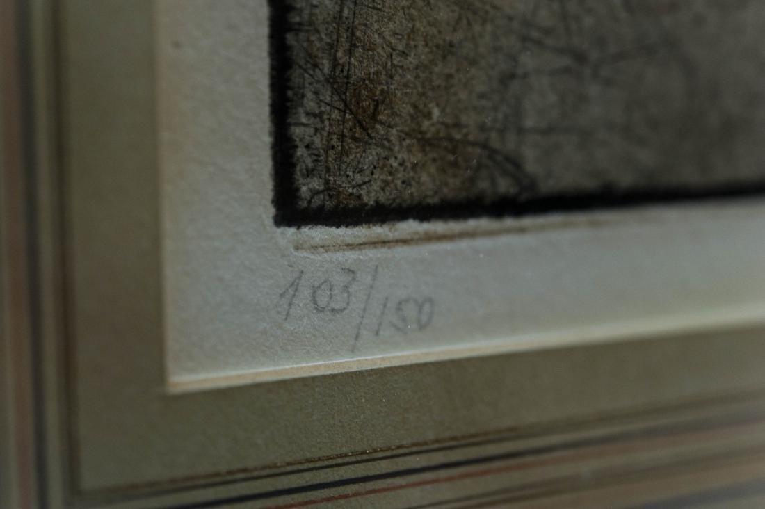 Luigi Kasimir Color Lithograph. - 4