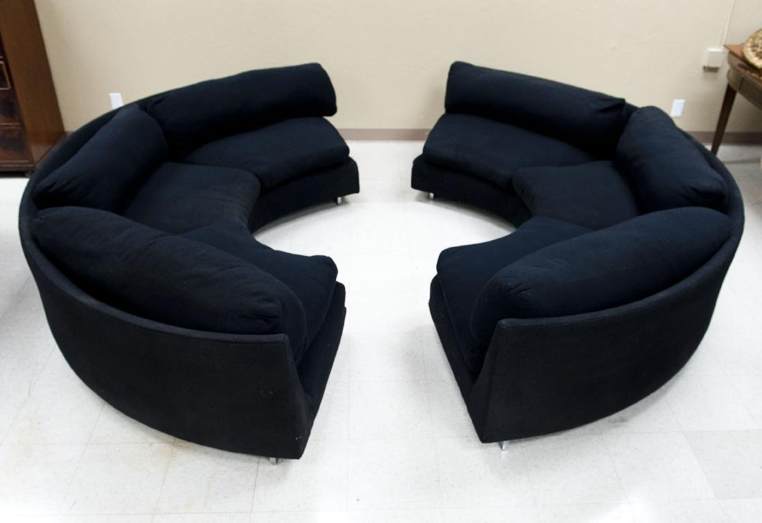 Milo Baughman Thayer Coggin Sectional Sofa.