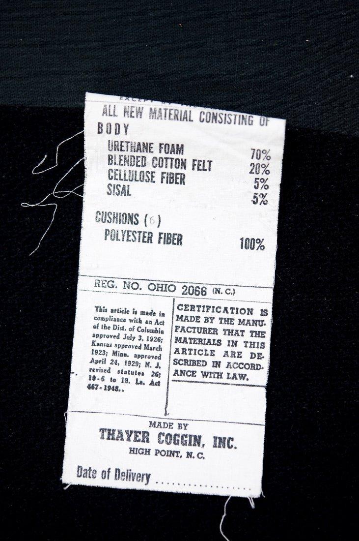 Milo Baughman Thayer Coggin Sectional Sofa. - 4