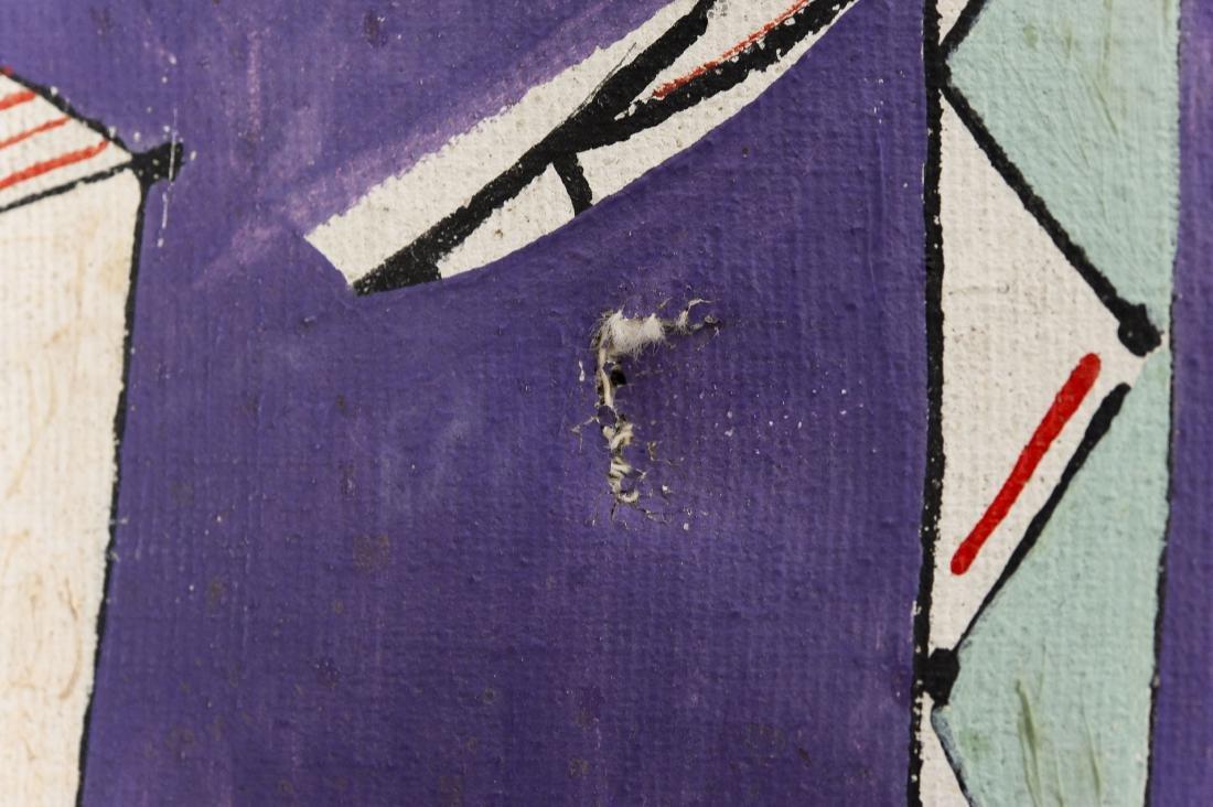 Jose Mijares, Oil on Canvas, Pescadores. - 9