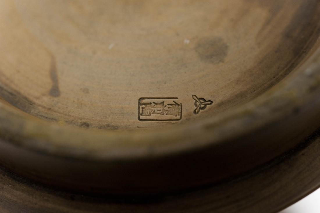 Bizen Ware Ceramic Vase. - 5