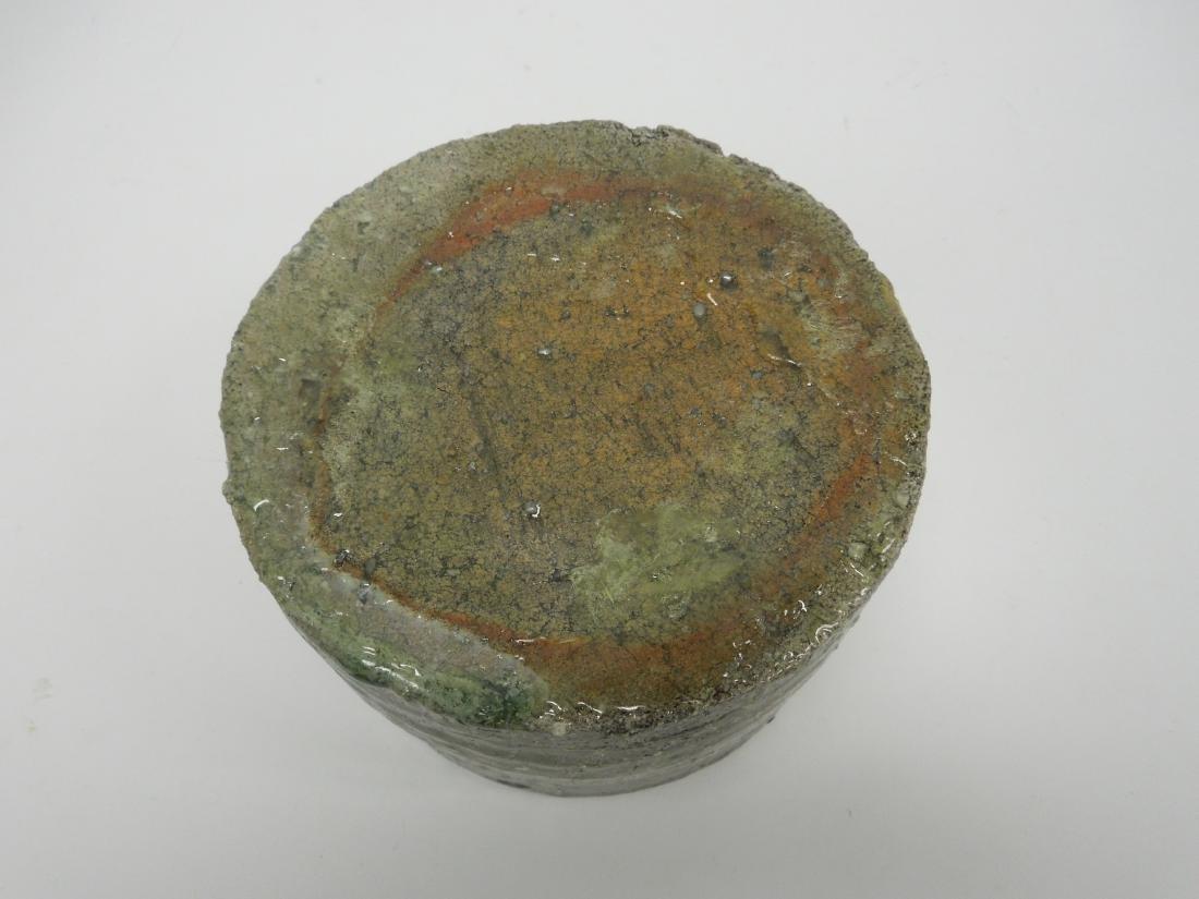 19th C. Edo Ware Flower Container. - 3