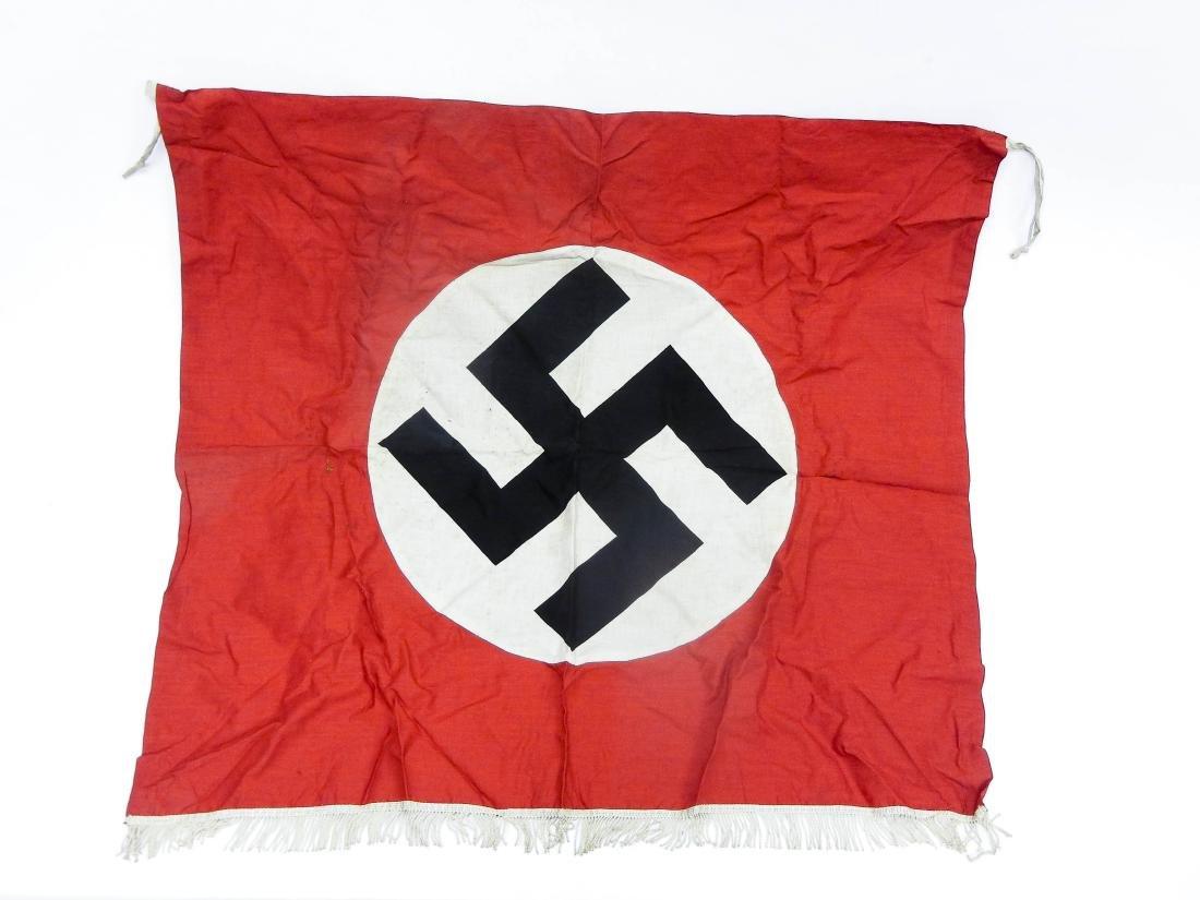 German World War II Flag and 2 Banners. - 4