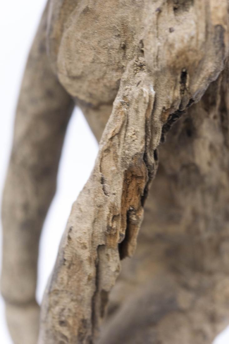 (4) Carved Wood Tribal Figures. - 7