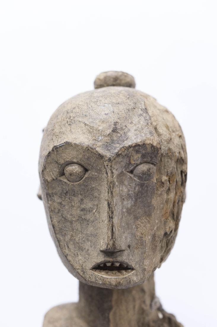 (4) Carved Wood Tribal Figures. - 8