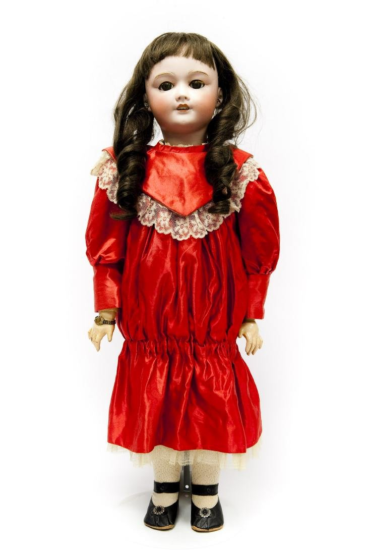 French SFBJ 301 Bisque Head Doll.