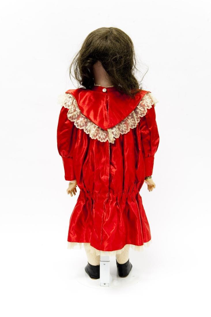 French SFBJ 301 Bisque Head Doll. - 3