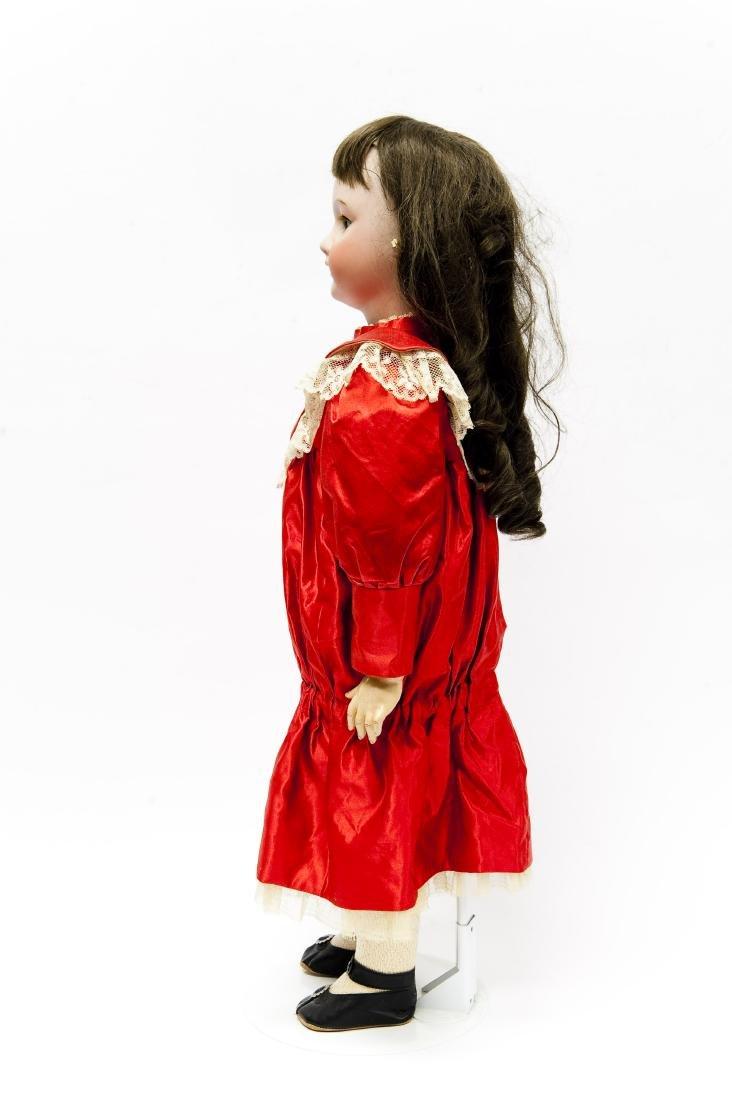 French SFBJ 301 Bisque Head Doll. - 4