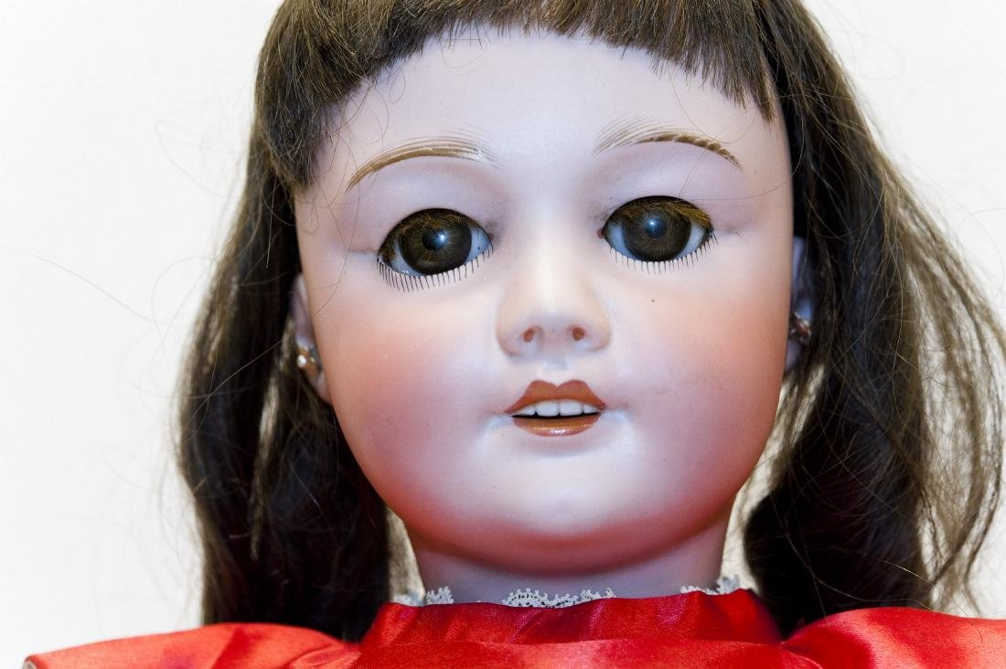 French SFBJ 301 Bisque Head Doll. - 6