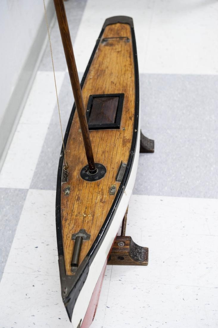Early 20th C. Model Sailboat. - 5