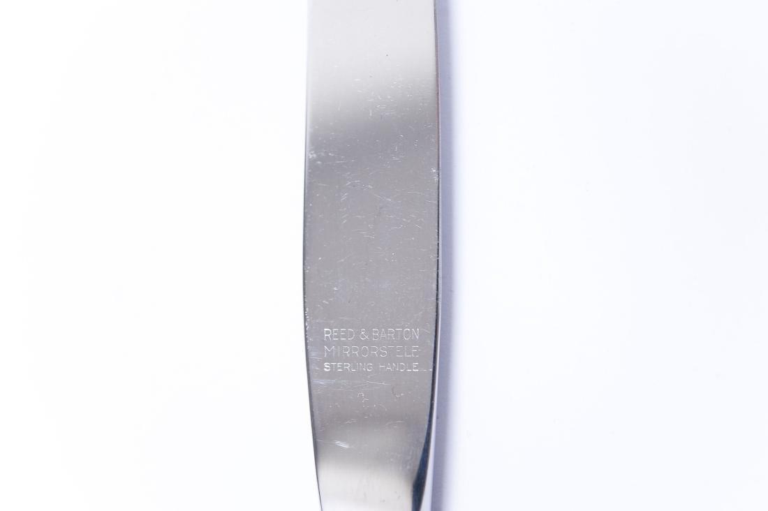 "Reed & Barton ""Silver Wheat"" Sterling Flatware. - 7"