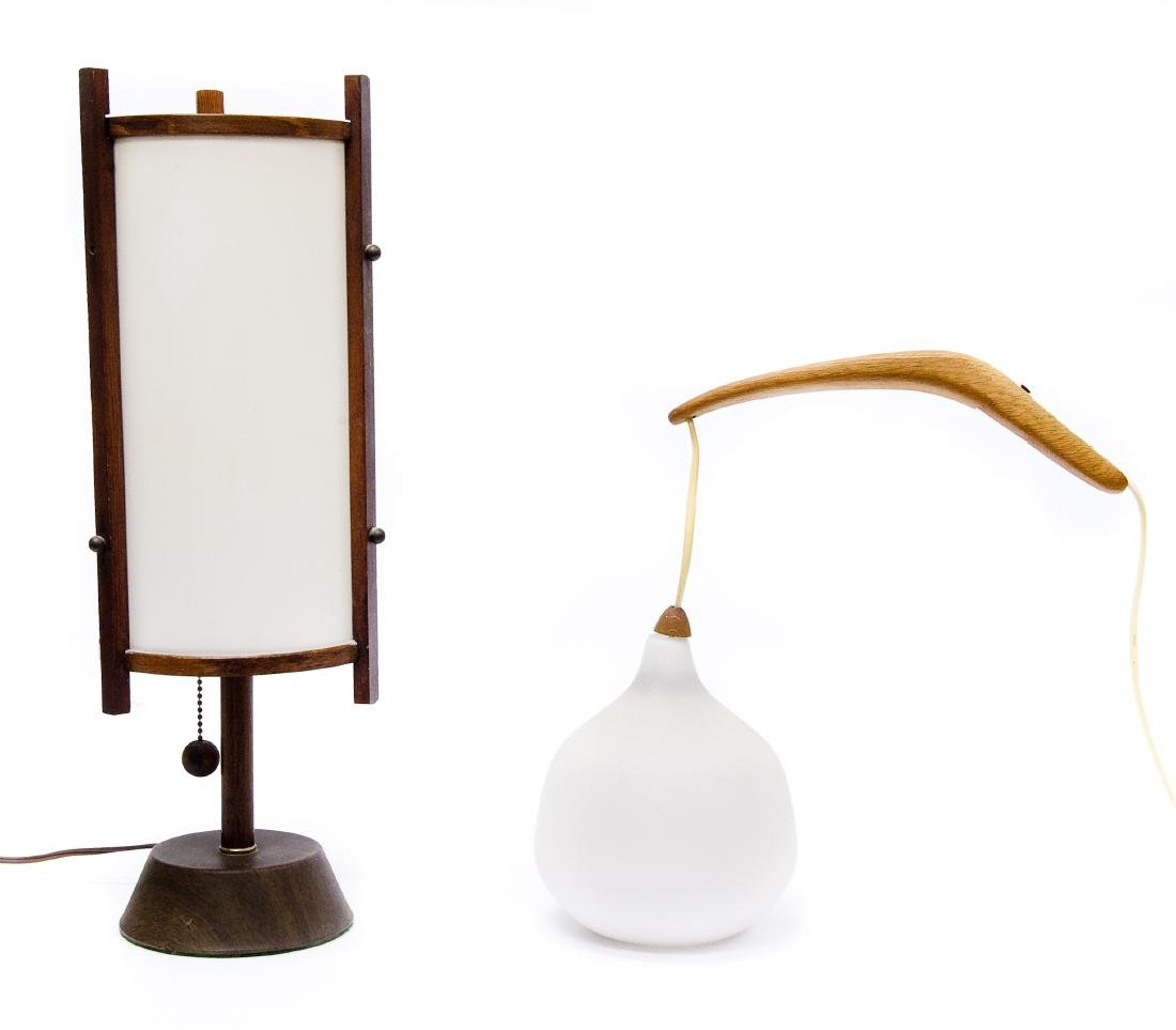 (4) Mid 20th C. Modern Lamps. - 3