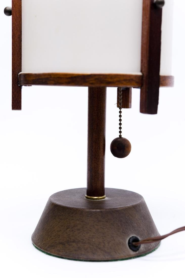 (4) Mid 20th C. Modern Lamps. - 8