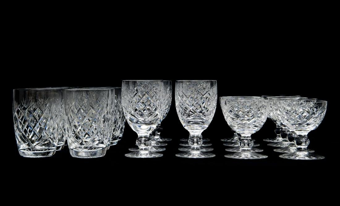 Group of Waterford Crystal Glasses.