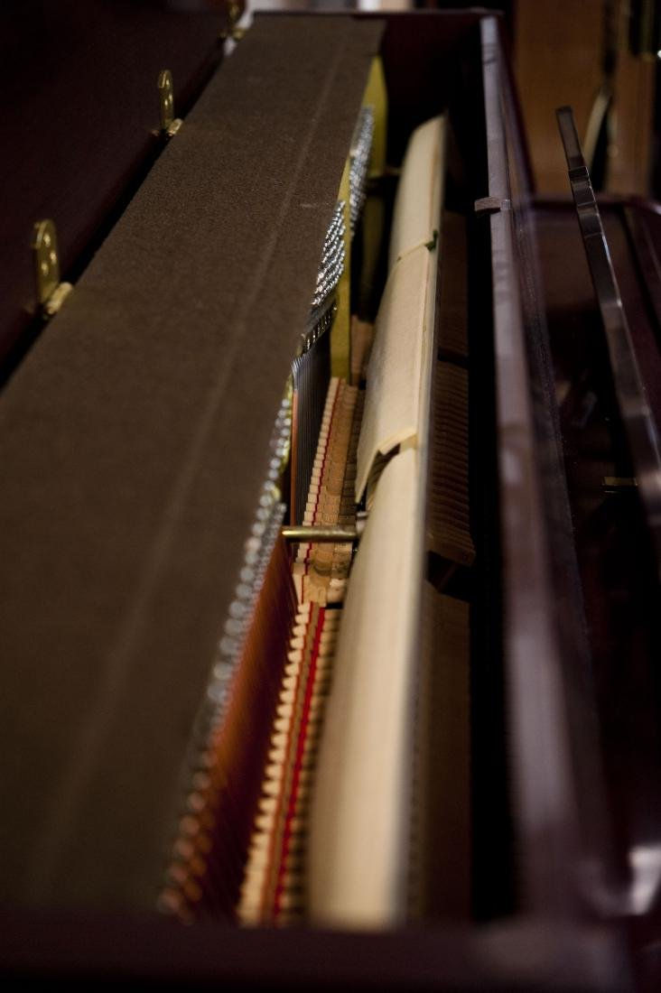 Yamaha M560QA Upright Piano with Bench. - 4