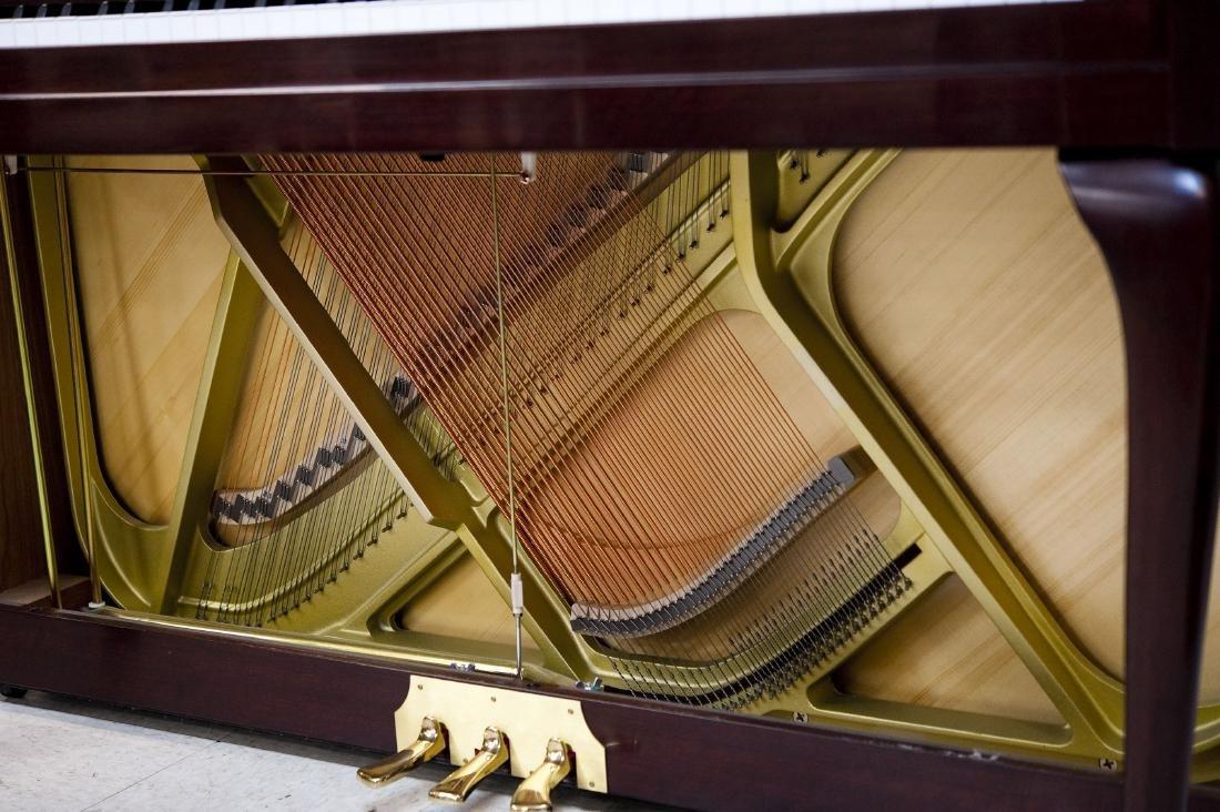 Yamaha M560QA Upright Piano with Bench. - 6