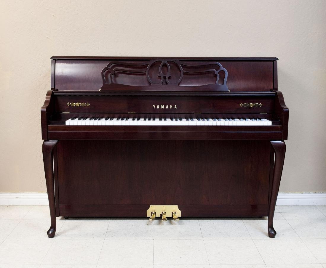 Yamaha M560QA Upright Piano with Bench. - 7