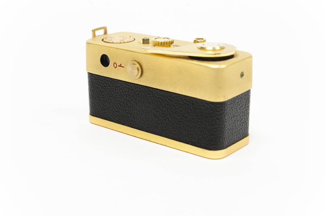 """Golden Ricoh """"16"""" Camera with Case. - 2"""