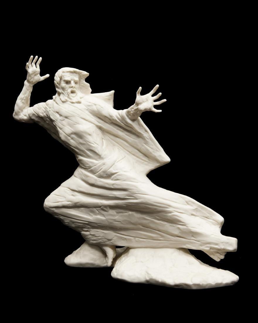 """Laszlo Ispanky Bisque Porcelain, """"Storm""""."""