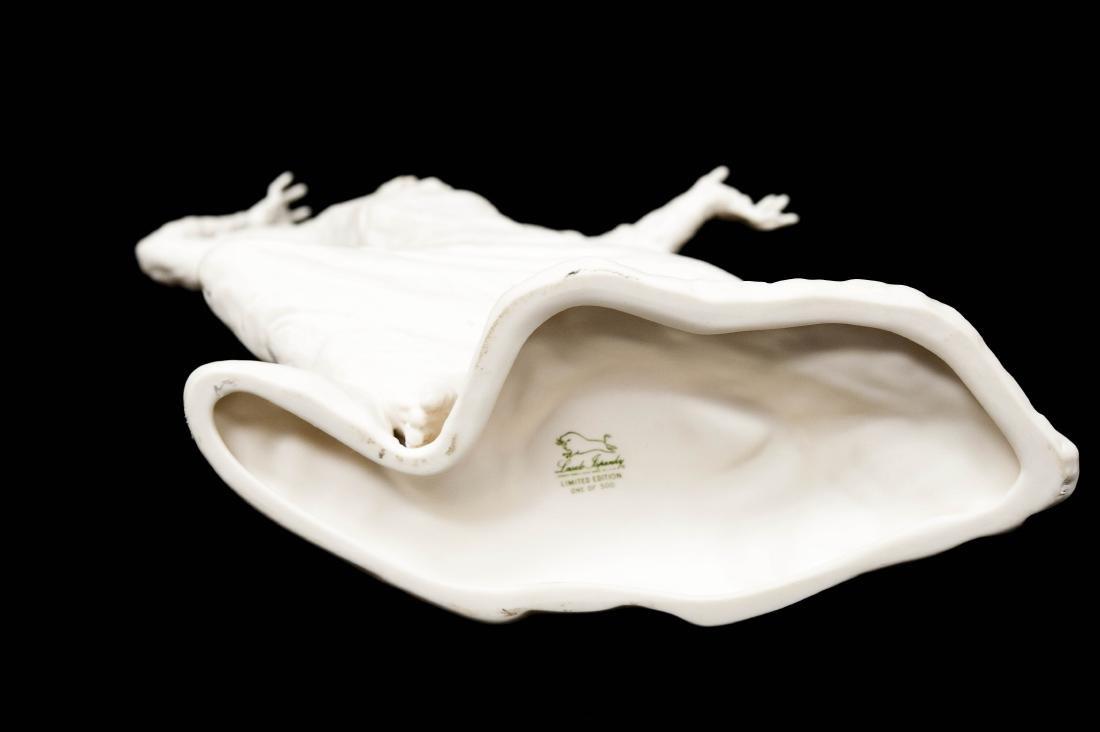 """Laszlo Ispanky Bisque Porcelain, """"Storm"""". - 5"""