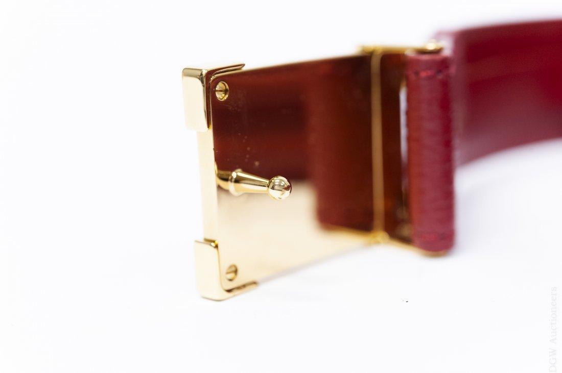 Louis Vuitton Leather Belt. - 3