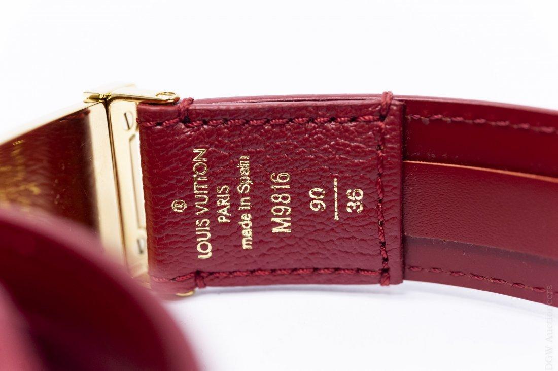 Louis Vuitton Leather Belt. - 4