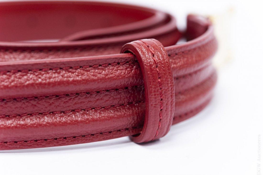 Louis Vuitton Leather Belt. - 6