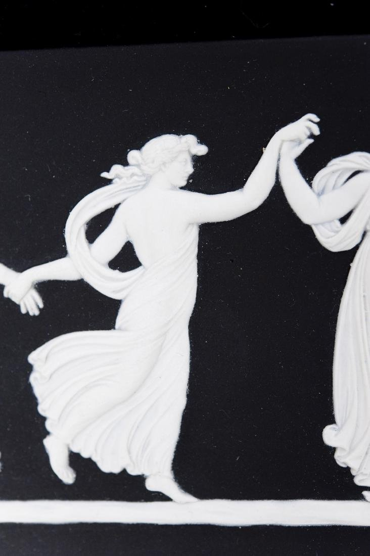 (2) Wedgwood Jasperware Dancing Hours Plaques. - 2