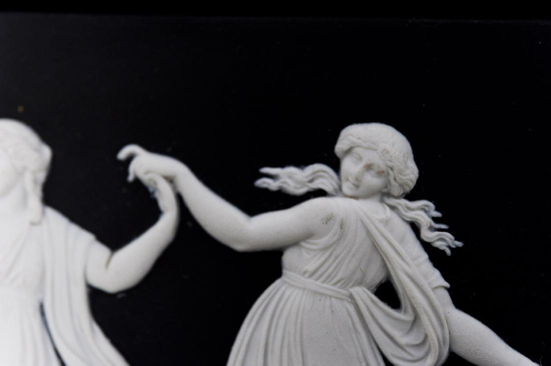 (2) Wedgwood Jasperware Dancing Hours Plaques. - 3