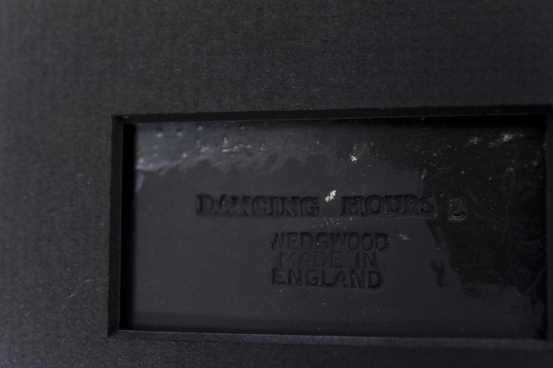 (2) Wedgwood Jasperware Dancing Hours Plaques. - 6