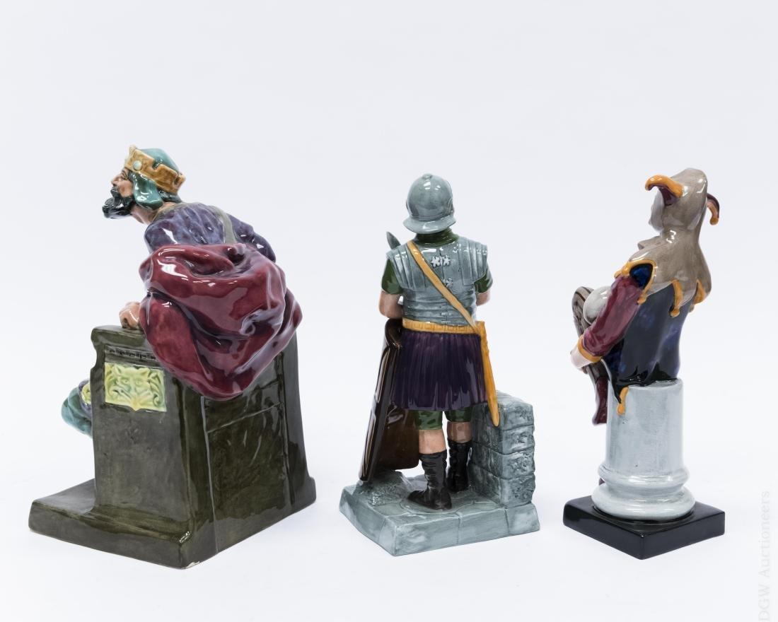 (3) Royal Doulton Porcelain Figures. - 2