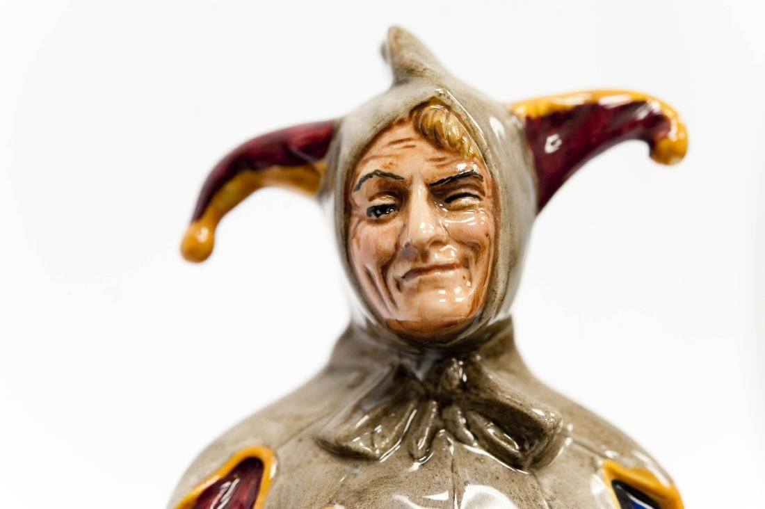 (3) Royal Doulton Porcelain Figures. - 7