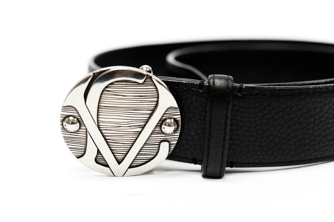 Louis Vuitton Leather Belt. - 2