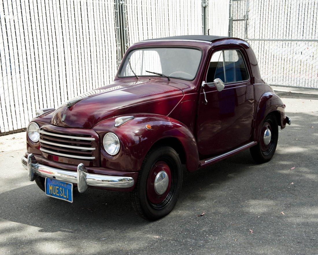 1953 Fiat Topolino Convertible.