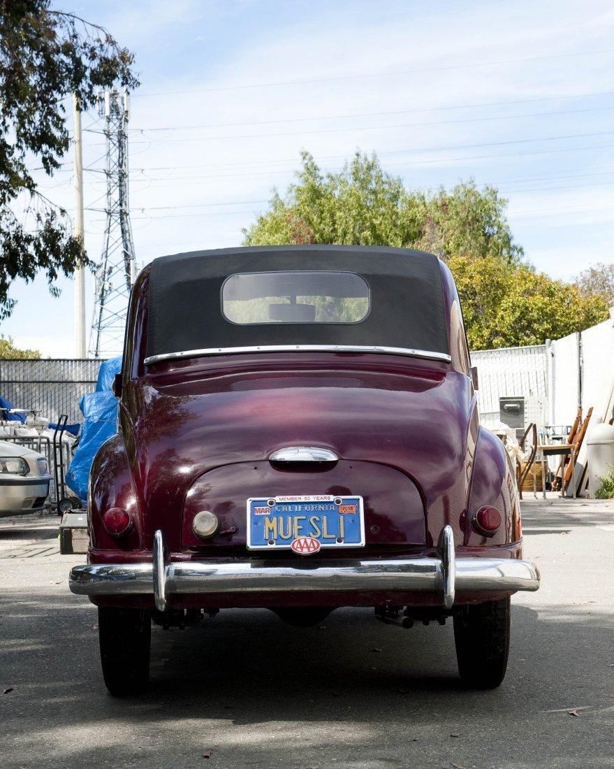 1953 Fiat Topolino Convertible. - 2