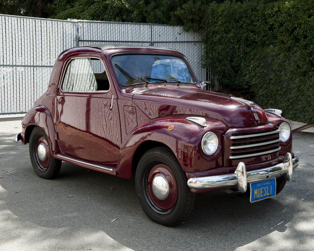 1953 Fiat Topolino Convertible. - 3
