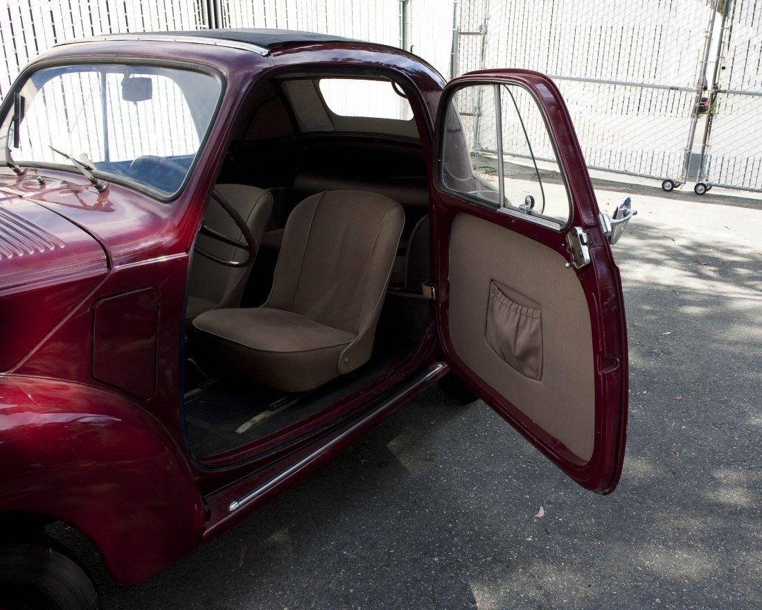 1953 Fiat Topolino Convertible. - 5
