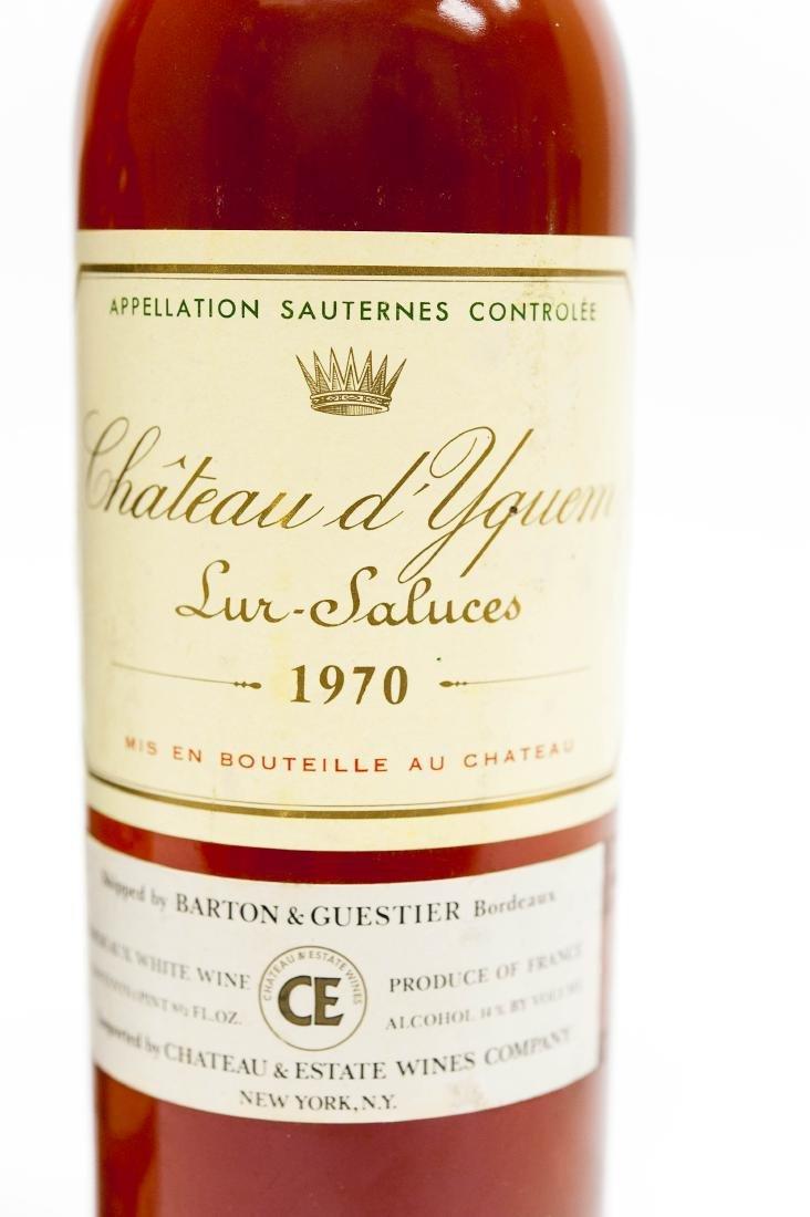 1970 Chateau d'Yquem Sauternes & Fonseca 1963 Port. - 6