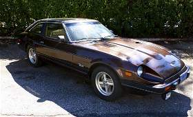1982 Datsun 280ZX Turbo Coupe.
