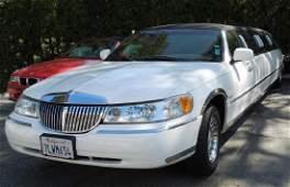 2000 Lincoln Town Car Krystal Limousine.