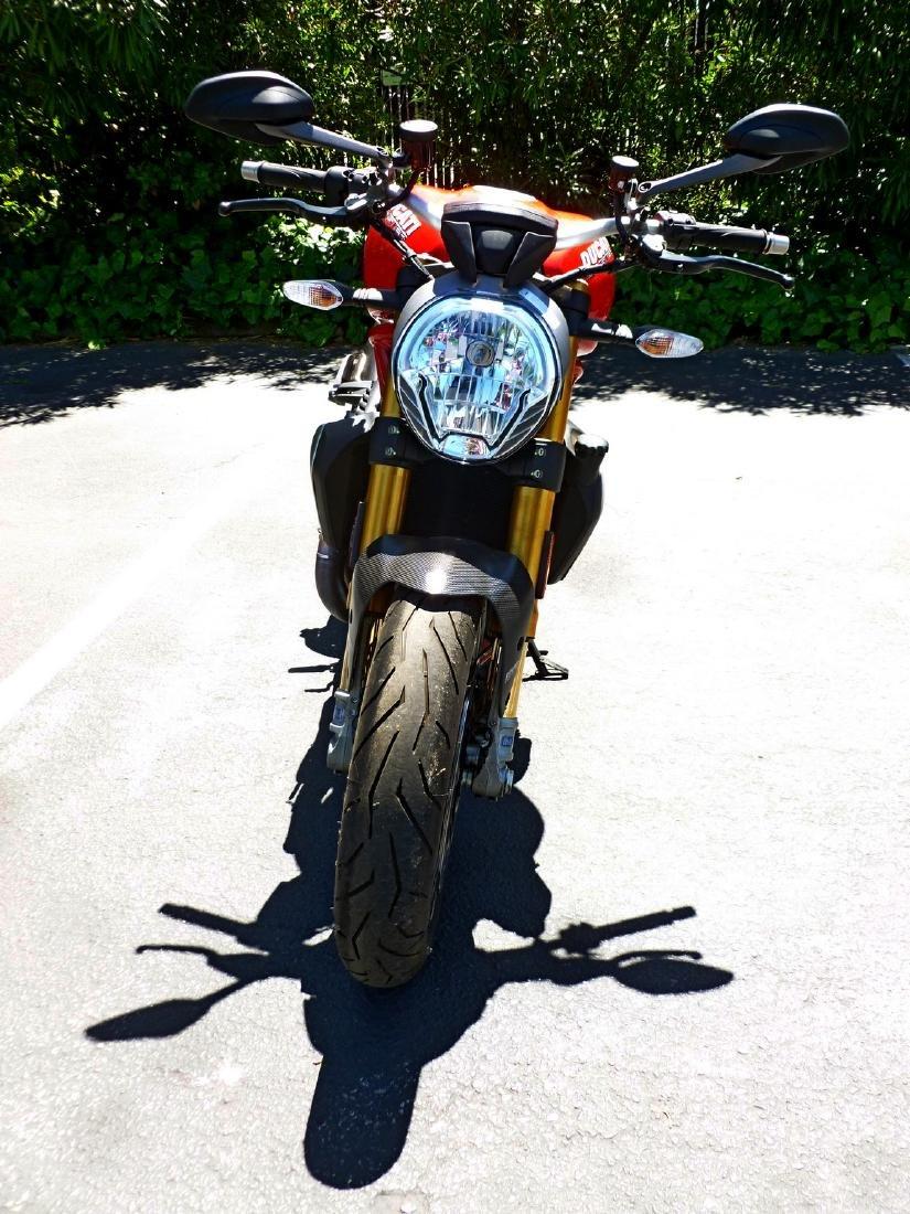 2014 Ducati Monster 1200S Motorcycle. - 10
