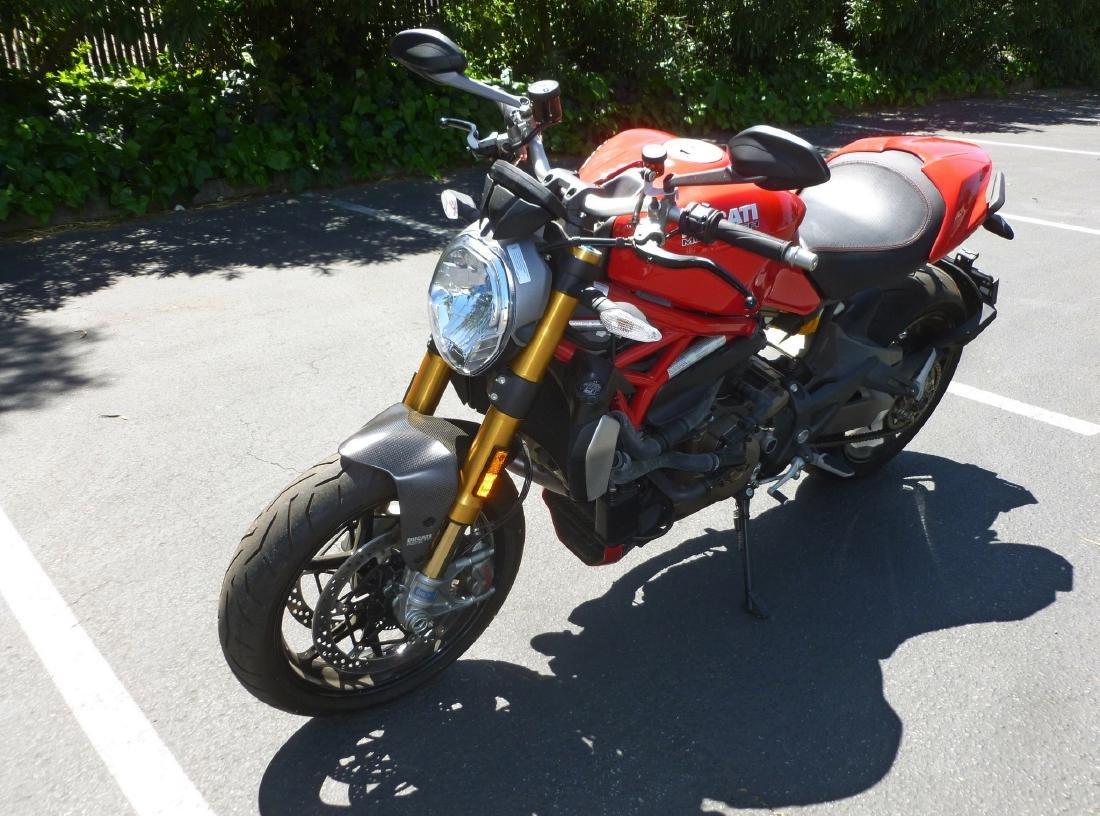 2014 Ducati Monster 1200S Motorcycle. - 7