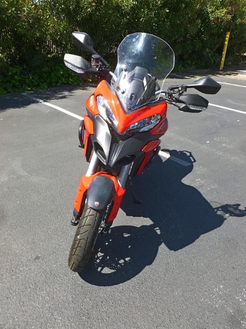 2014 Ducati Multistrada 1200S Motorcycle. - 10