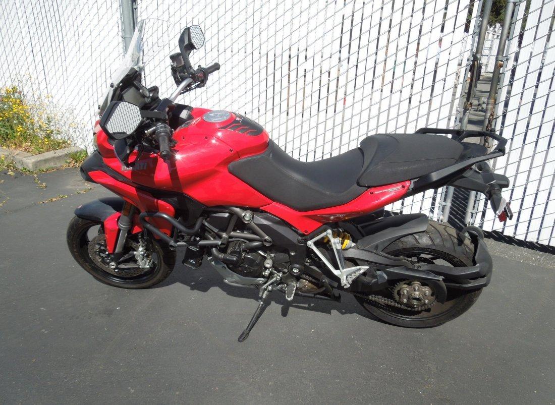 2014 Ducati Multistrada 1200S Motorcycle.
