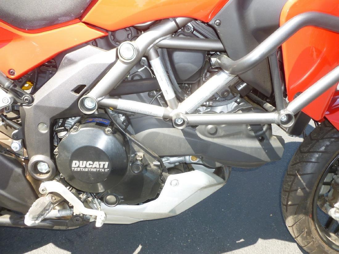 2014 Ducati Multistrada 1200S Motorcycle. - 3
