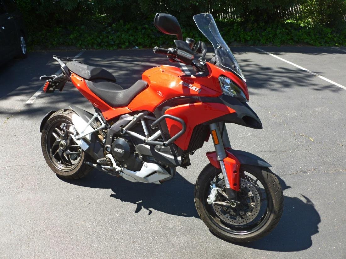 2014 Ducati Multistrada 1200S Motorcycle. - 5