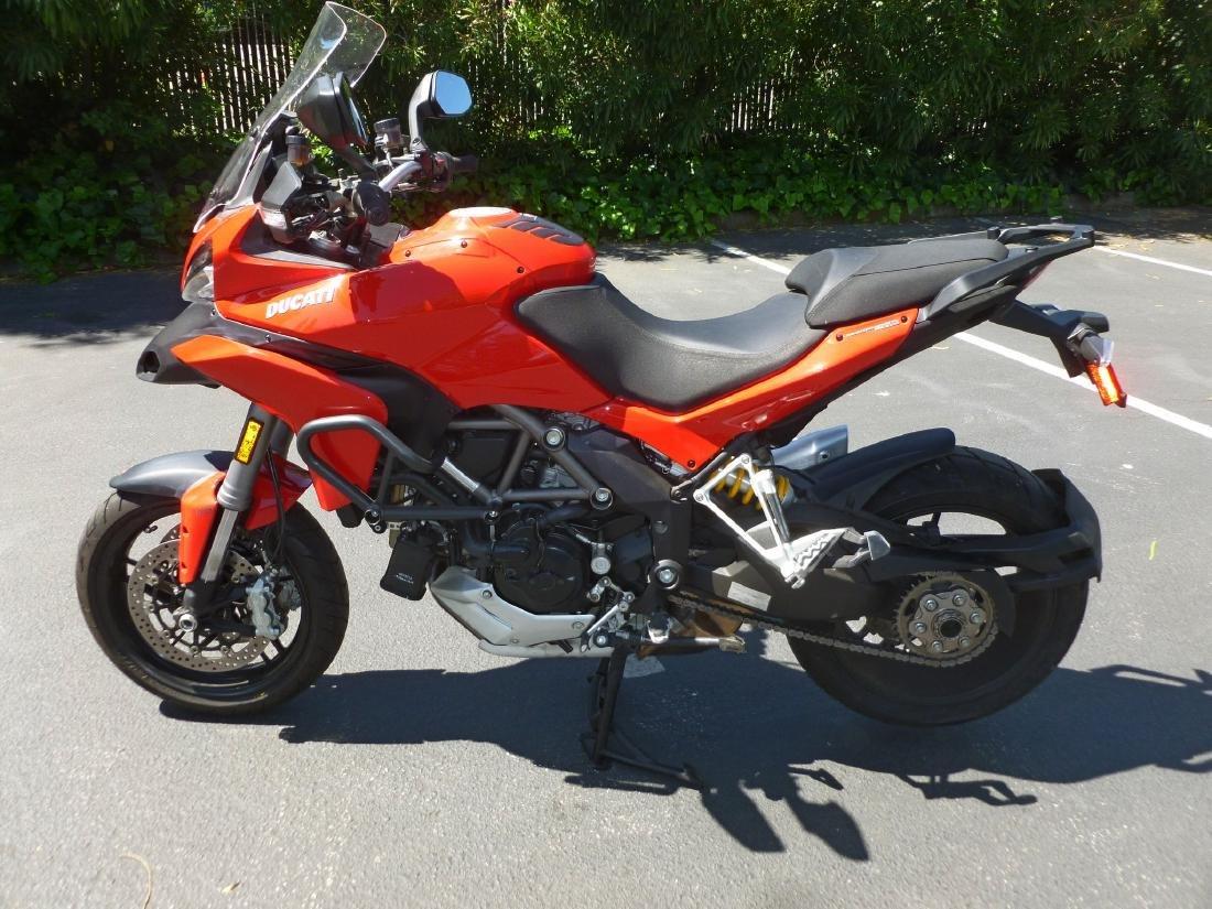 2014 Ducati Multistrada 1200S Motorcycle. - 6