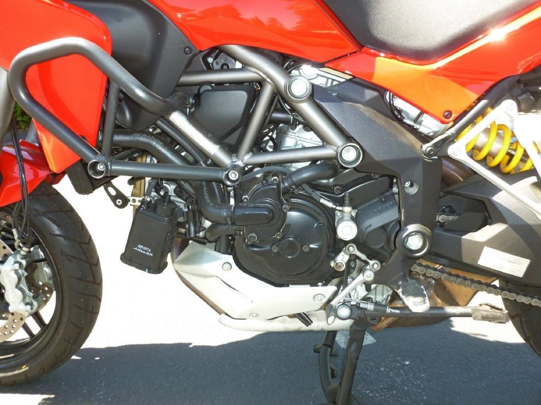 2014 Ducati Multistrada 1200S Motorcycle. - 7