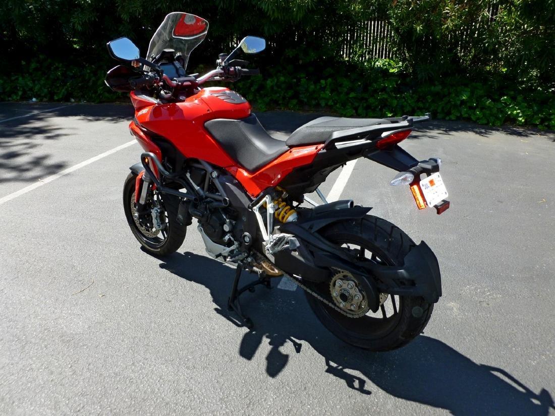 2014 Ducati Multistrada 1200S Motorcycle. - 9