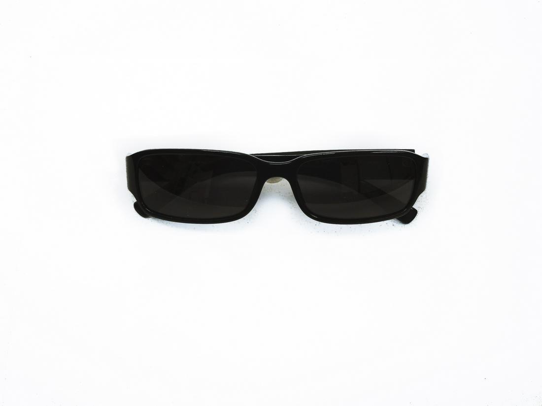 Emporio Armani Sunglasses with Prada Case.